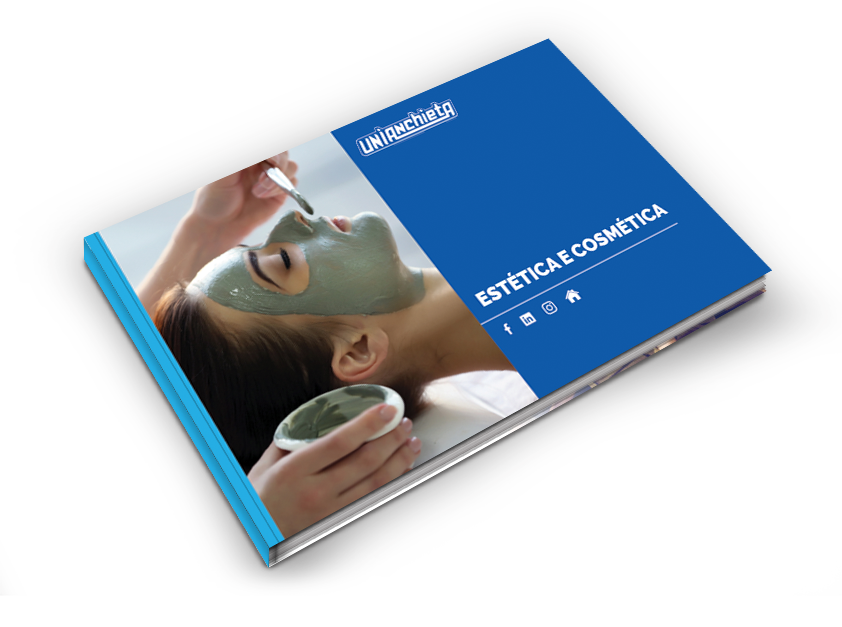 Capa do e-book de Estética e Cosmética do UniAnchieta