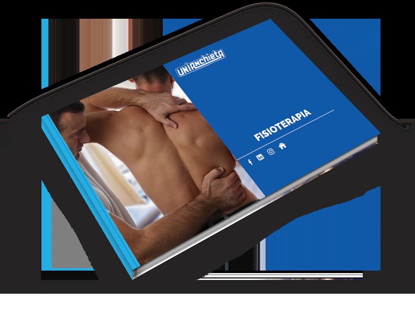 Capa do e-book de Fisioterapia do UniAnchieta