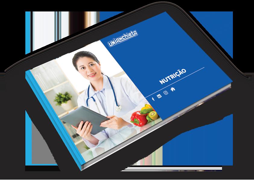 Capa do e-book de Nutrição do UniAnchieta